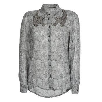 textil Dame Skjorter / Skjortebluser Ikks BR12055 Sort