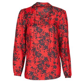textil Dame Toppe / Bluser Ikks BR13085 Rød