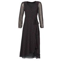 textil Dame Lange kjoler Ikks BR30225 Sort