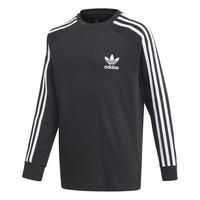 textil Dreng Langærmede T-shirts adidas Originals 3STRIPES LS Sort