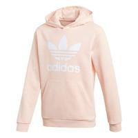 textil Pige Sweatshirts adidas Originals TREFOIL HOODIE Pink