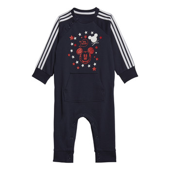 textil Dreng Pyjamas / Natskjorte adidas Performance INF DY MM ONE Marineblå