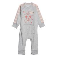 textil Pige Pyjamas / Natskjorte adidas Performance INF DY MM ONE Hvid