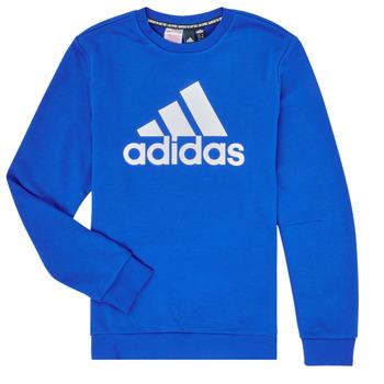 textil Dreng Sweatshirts adidas Performance JB MH CREW Blå
