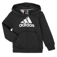 textil Dreng Sweatshirts adidas Performance B MH BOS FZ FL Sort