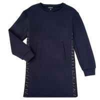 textil Pige Korte kjoler Emporio Armani 6H3A07-1JDSZ-0920 Marineblå