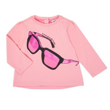 textil Pige Langærmede T-shirts Emporio Armani 6HET02-3J2IZ-0315 Pink