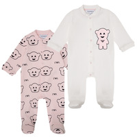textil Pige Pyjamas / Natskjorte Emporio Armani 6HHV06-4J3IZ-F308 Pink