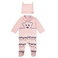 textil Pige Pyjamas / Natskjorte Emporio Armani 6HHV08-4J3IZ-0355 Pink