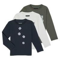 textil Dreng Langærmede T-shirts Emporio Armani 6H4D01-4J09Z-0564 Flerfarvet