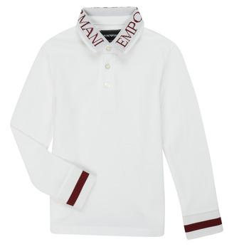 Polo-t-shirts m. lange ærmer Emporio Armani  6H4FJ4-1J0SZ-0101