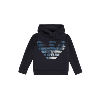 textil Dreng Sweatshirts Emporio Armani 6H4MA9-1JDSZ-0920 Marineblå