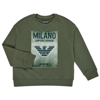 textil Dreng Sweatshirts Emporio Armani 6H4MM1-4J3BZ-0564 Kaki