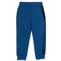 textil Dreng Træningsbukser Emporio Armani 6H4P84-1JDSZ-0975 Marineblå
