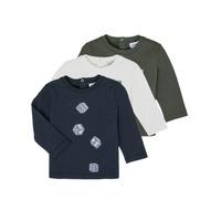 textil Dreng Langærmede T-shirts Emporio Armani 6HHD21-4J09Z-0564 Flerfarvet