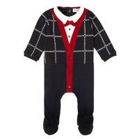 textil Dreng Pyjamas / Natskjorte Emporio Armani 6HHD12-4J3WZ-F912 Marineblå