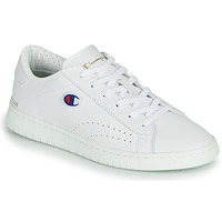 Sko Dame Lave sneakers Champion COURT CLUB PATCH Hvid / Beige