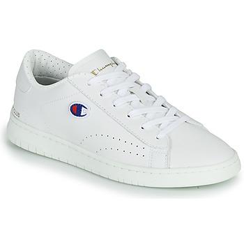 Sko Lave sneakers Champion COURT CLUB PATCH Hvid / Beige