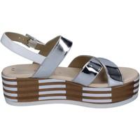 Sko Dame Sandaler Tredy's sandali pelle sintetica Argento