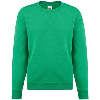 textil Børn Sweatshirts Fruit Of The Loom 62041 Heather Green