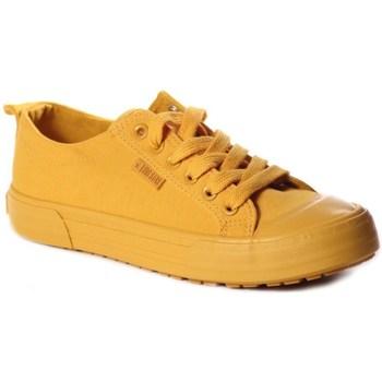 Sko Dame Lave sneakers Big Star FF274A086 Gul