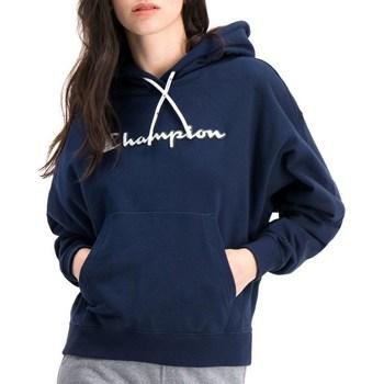 textil Dame Sweatshirts Champion Hooded Flåde