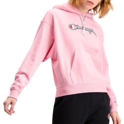 textil Dame Sweatshirts Champion Hooded Pink