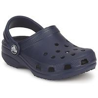 Sko Børn Træsko Crocs CLASSIC KIDS Marineblå