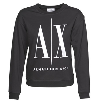 textil Dame Sweatshirts Armani Exchange 8NYM02 Sort