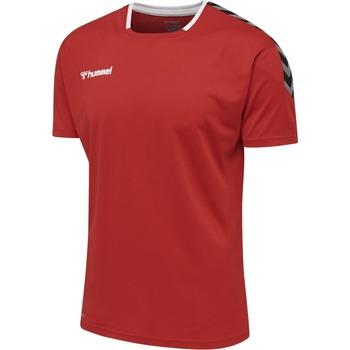textil T-shirts m. korte ærmer Hummel Maillot  hmlAUTHENTIC Poly HML rouge