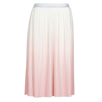 textil Dame Nederdele Only ONLDIPPY Hvid