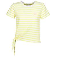 textil Dame T-shirts m. korte ærmer Only ONLBRAVE Gul