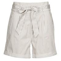 textil Dame Shorts Vero Moda VMEVA Hvid / Blå
