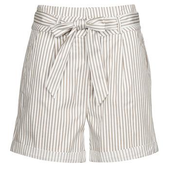 textil Dame Shorts Vero Moda VMEVA Hvid / Beige