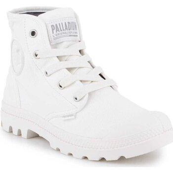 Sko Dame Høje sneakers Palladium US Pampa HI F 92352-116-M white