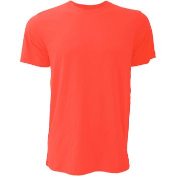 textil Herre T-shirts m. korte ærmer Bella + Canvas CA3001 Poppy