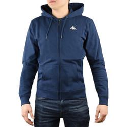 textil Herre Sweatshirts Kappa Veil Hooded Blå
