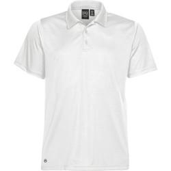 textil Herre Polo-t-shirts m. korte ærmer Stormtech PG-1 White