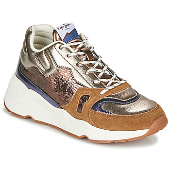 Sko Dame Lave sneakers Pepe jeans HARLOW SPACE Bronze