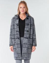 textil Dame Frakker Derhy SAISON Grå / Sort