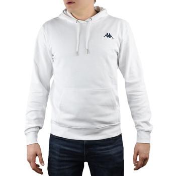 textil Herre Sweatshirts Kappa Vend Hooded blanc