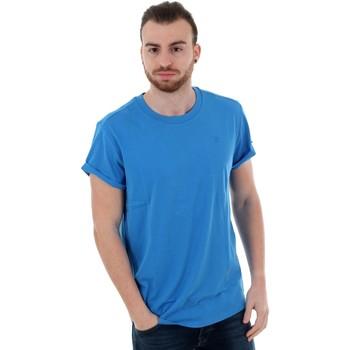 T-shirts m. korte ærmer G-Star Raw  SHELO R T SS ELECTRIC BLUE