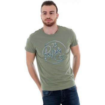 T-shirts m. korte ærmer Pepe jeans  PM507135 MEIDINGER RO - 771 FOREST