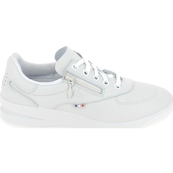 Sko Dame Lave sneakers TBS Branzip Blanc Hvid