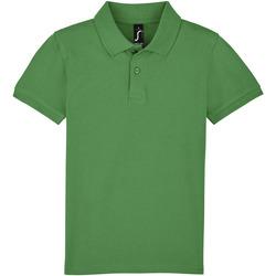textil Børn Polo-t-shirts m. korte ærmer Sols PERFECT KIDS COLORS Verde