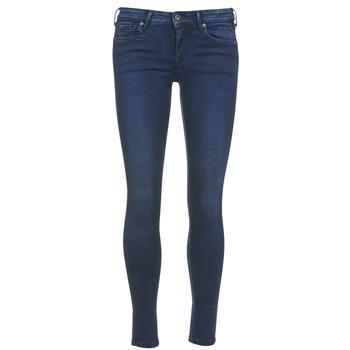 textil Dame Halvlange bukser Pepe jeans LOLA Blå