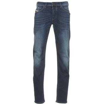 textil Herre Lige jeans Diesel BELHER Blå / Mørk