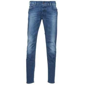 textil Herre Smalle jeans Diesel SLEENKER Blå / MEDIUM