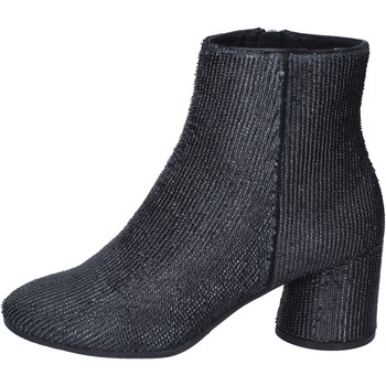 Sko Dame Høje støvletter Elvio Zanon Ankelstøvler BM13 Sort