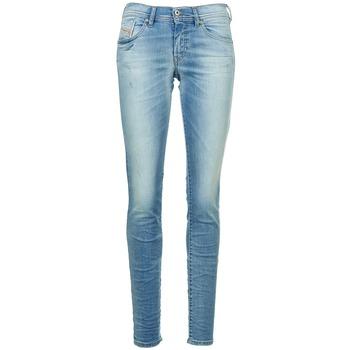 textil Dame Smalle jeans Diesel FRANCY Blå / LYS